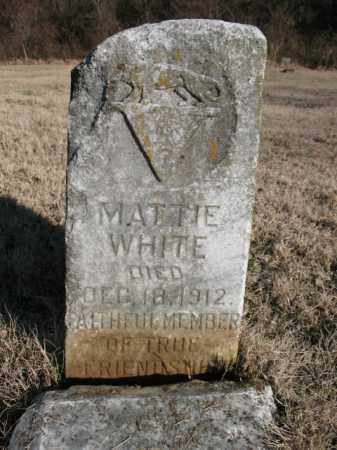 WHITE, MATTIE - Cross County, Arkansas   MATTIE WHITE - Arkansas Gravestone Photos