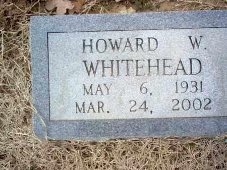 WHITEHEAD, HOWARD W - Cross County, Arkansas | HOWARD W WHITEHEAD - Arkansas Gravestone Photos