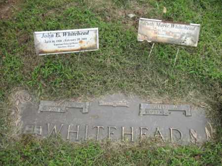 WHITEHEAD, RUTH MARIE - Cross County, Arkansas   RUTH MARIE WHITEHEAD - Arkansas Gravestone Photos
