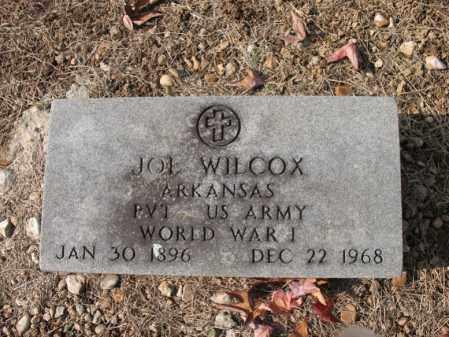 WILCOX (VETERAN WWI), JOE - Cross County, Arkansas   JOE WILCOX (VETERAN WWI) - Arkansas Gravestone Photos