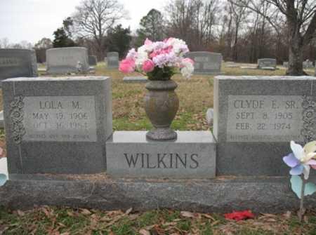 WILKINS, SR., CLYDE E - Cross County, Arkansas | CLYDE E WILKINS, SR. - Arkansas Gravestone Photos