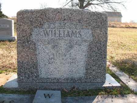 WILLIAMS, ELTON R - Cross County, Arkansas | ELTON R WILLIAMS - Arkansas Gravestone Photos