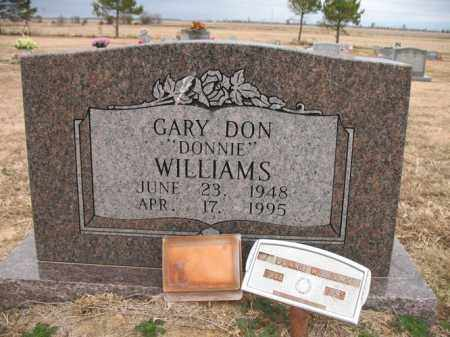"WILLIAMS, GARY DON ""DONNIE"" - Cross County, Arkansas   GARY DON ""DONNIE"" WILLIAMS - Arkansas Gravestone Photos"