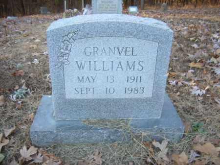 WILLIAMS, GRANVEL - Cross County, Arkansas   GRANVEL WILLIAMS - Arkansas Gravestone Photos
