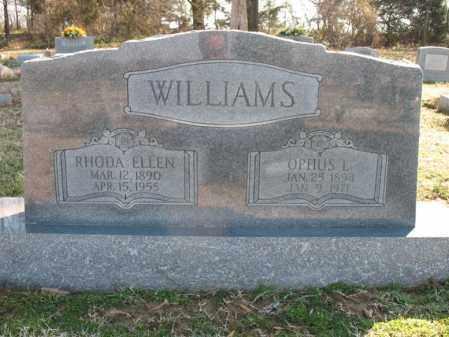 WILLIAMS, RHODA ELLEN - Cross County, Arkansas | RHODA ELLEN WILLIAMS - Arkansas Gravestone Photos