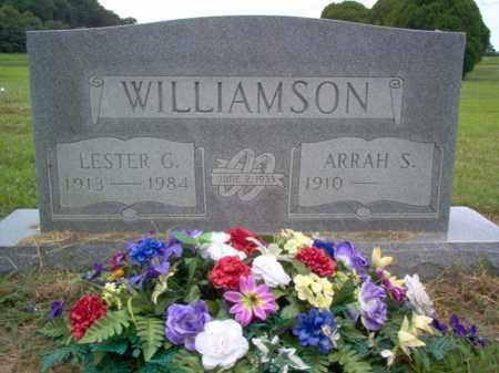 WILLIAMSON, LESTER G - Cross County, Arkansas   LESTER G WILLIAMSON - Arkansas Gravestone Photos