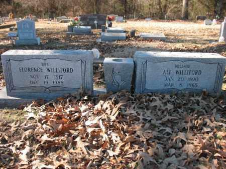 WILLIFORD, FLORENCE - Cross County, Arkansas | FLORENCE WILLIFORD - Arkansas Gravestone Photos