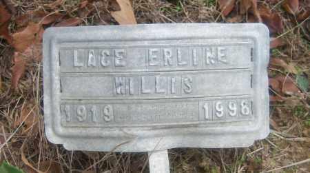 WILLIS, LACE ERLINE - Cross County, Arkansas | LACE ERLINE WILLIS - Arkansas Gravestone Photos
