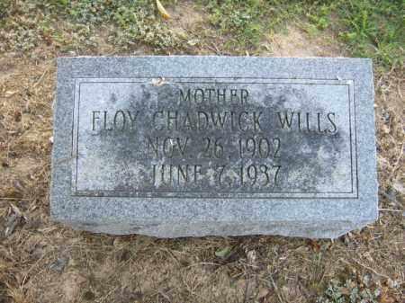 CHADWICK WILLS, FLOY - Cross County, Arkansas | FLOY CHADWICK WILLS - Arkansas Gravestone Photos