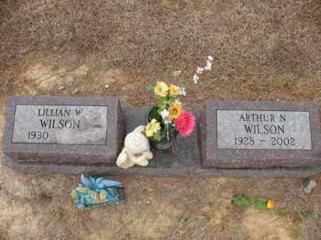 WILSON, ARTHUR N - Cross County, Arkansas | ARTHUR N WILSON - Arkansas Gravestone Photos