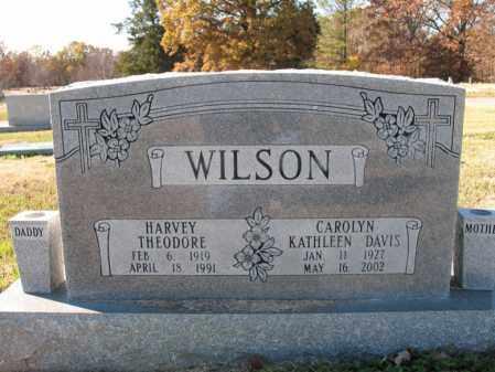 WILSON, HARVEY THEODORE - Cross County, Arkansas | HARVEY THEODORE WILSON - Arkansas Gravestone Photos