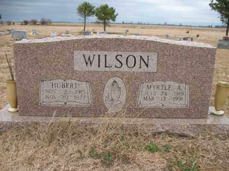 WILSON, MYRTLE A - Cross County, Arkansas | MYRTLE A WILSON - Arkansas Gravestone Photos