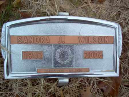 WILSON, SANDRA J - Cross County, Arkansas | SANDRA J WILSON - Arkansas Gravestone Photos