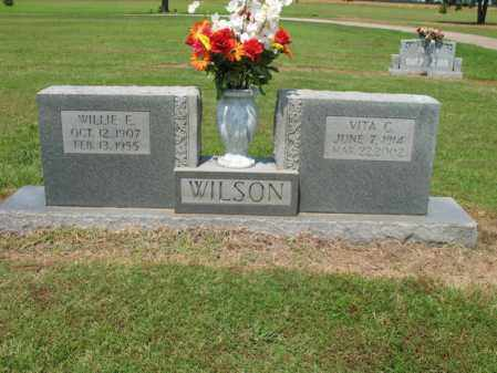 WILSON, WILLIE E - Cross County, Arkansas | WILLIE E WILSON - Arkansas Gravestone Photos