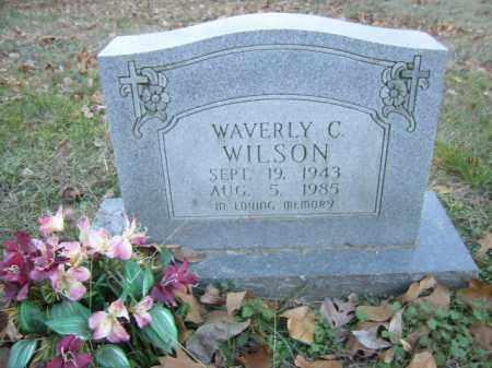 WILSON, WAVERLY C - Cross County, Arkansas | WAVERLY C WILSON - Arkansas Gravestone Photos
