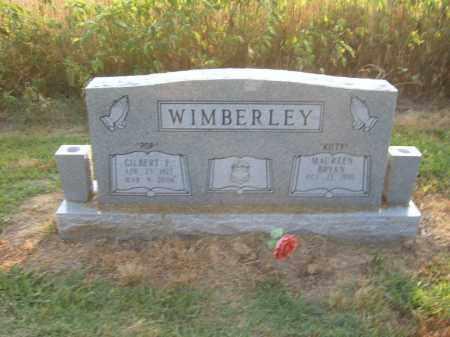 WIMBERLEY, GILBERT F - Cross County, Arkansas | GILBERT F WIMBERLEY - Arkansas Gravestone Photos