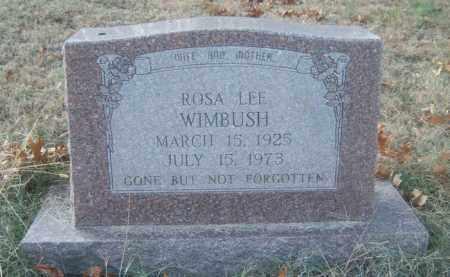 WIMBUSH, ROSA LEE - Cross County, Arkansas | ROSA LEE WIMBUSH - Arkansas Gravestone Photos