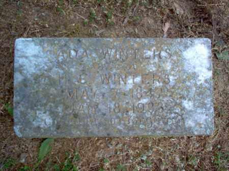 WINTERS, ADA - Cross County, Arkansas | ADA WINTERS - Arkansas Gravestone Photos