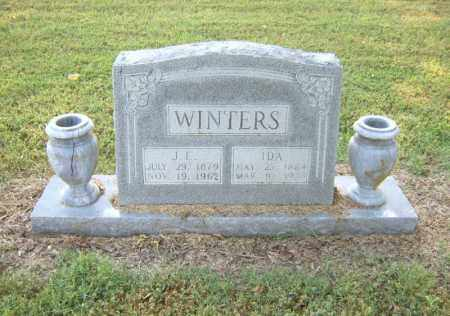 WINTERS, J E - Cross County, Arkansas | J E WINTERS - Arkansas Gravestone Photos