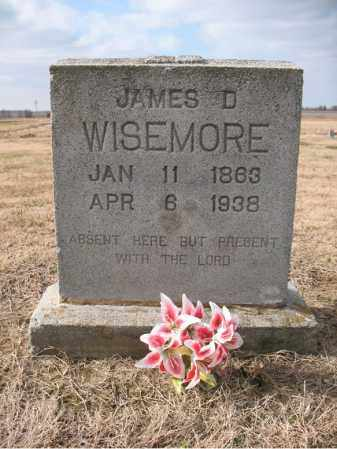 WISEMORE, JAMES D - Cross County, Arkansas | JAMES D WISEMORE - Arkansas Gravestone Photos