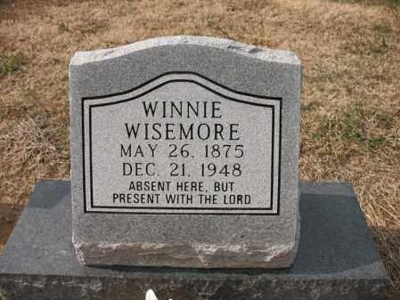 WISEMORE, WINNIE - Cross County, Arkansas   WINNIE WISEMORE - Arkansas Gravestone Photos