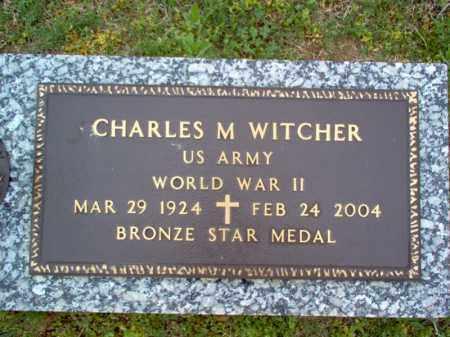 "WITCHER (VETERAN WWII), CHARLES M ""SONNY"" - Cross County, Arkansas | CHARLES M ""SONNY"" WITCHER (VETERAN WWII) - Arkansas Gravestone Photos"