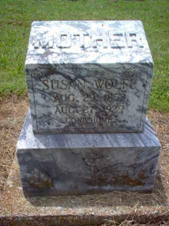 WOLFE, SUSAN - Cross County, Arkansas | SUSAN WOLFE - Arkansas Gravestone Photos