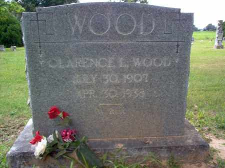 WOOD, CLARENCE L - Cross County, Arkansas | CLARENCE L WOOD - Arkansas Gravestone Photos