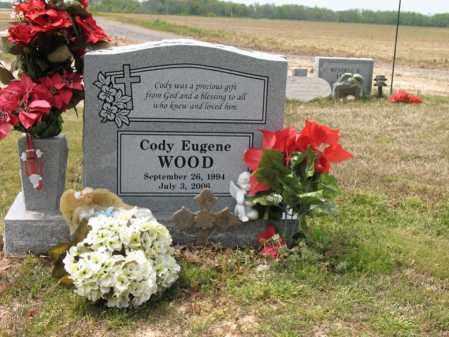 WOOD, CODY EUGENE - Cross County, Arkansas   CODY EUGENE WOOD - Arkansas Gravestone Photos