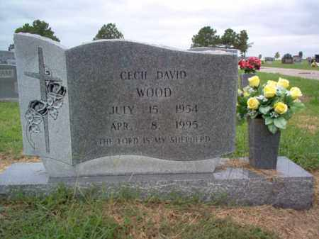 WOOD, CECIL DAVID - Cross County, Arkansas | CECIL DAVID WOOD - Arkansas Gravestone Photos