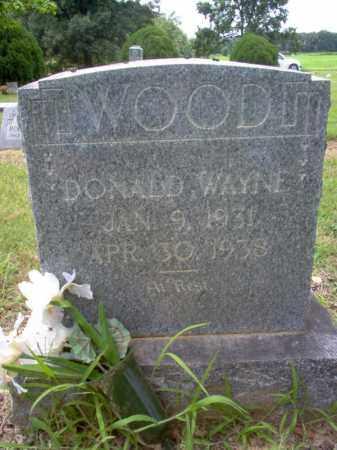 WOOD, DONALD WAYNE - Cross County, Arkansas | DONALD WAYNE WOOD - Arkansas Gravestone Photos