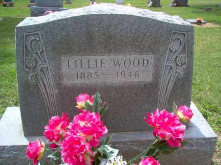 WOOD, LILLIE - Cross County, Arkansas | LILLIE WOOD - Arkansas Gravestone Photos