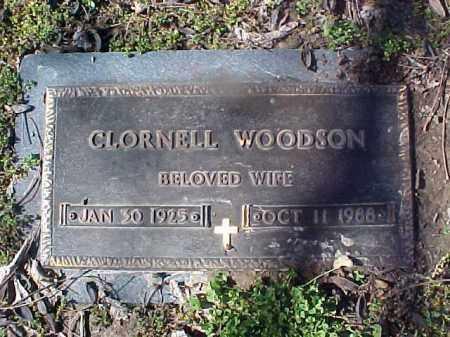 WOODSON, CLORNELL - Cross County, Arkansas | CLORNELL WOODSON - Arkansas Gravestone Photos