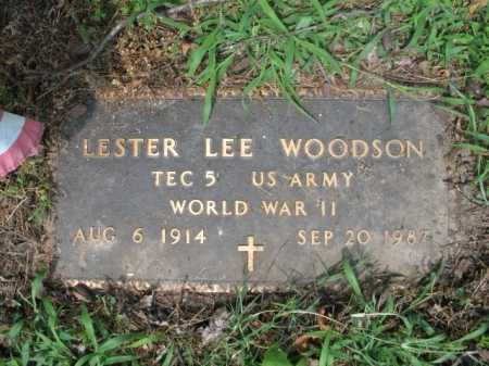WOODSON  (VETERAN WWII), LESTER LEE - Cross County, Arkansas | LESTER LEE WOODSON  (VETERAN WWII) - Arkansas Gravestone Photos
