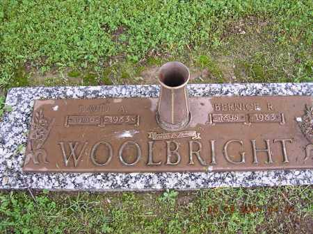 WOOLBRIGHT, DAVID A - Cross County, Arkansas | DAVID A WOOLBRIGHT - Arkansas Gravestone Photos