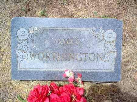 WORTHINGTON, JAMES - Cross County, Arkansas | JAMES WORTHINGTON - Arkansas Gravestone Photos