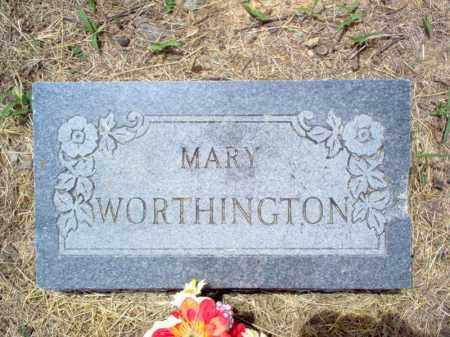 WORTHINGTON, MARY - Cross County, Arkansas | MARY WORTHINGTON - Arkansas Gravestone Photos