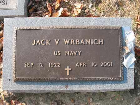 WRBANICH (VETERAN), JACK V - Cross County, Arkansas   JACK V WRBANICH (VETERAN) - Arkansas Gravestone Photos
