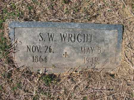 WRIGHT, S W - Cross County, Arkansas | S W WRIGHT - Arkansas Gravestone Photos