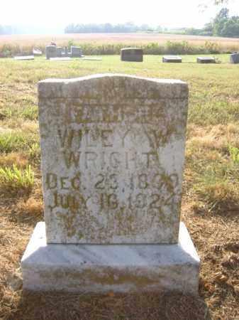 WRIGHT, WILEY W - Cross County, Arkansas | WILEY W WRIGHT - Arkansas Gravestone Photos