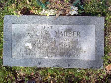 YARBER, ROGER - Cross County, Arkansas | ROGER YARBER - Arkansas Gravestone Photos