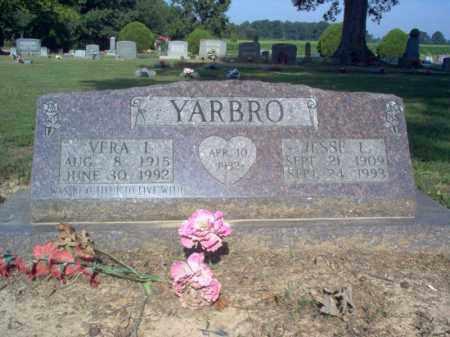 YARBRO, VERA I - Cross County, Arkansas | VERA I YARBRO - Arkansas Gravestone Photos