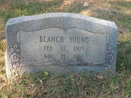 YOUNG, BLANCH - Cross County, Arkansas | BLANCH YOUNG - Arkansas Gravestone Photos