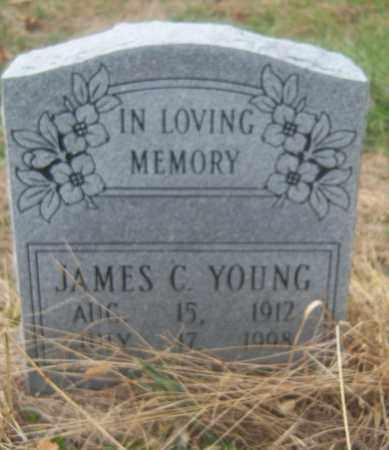 YOUNG, JAMES C - Cross County, Arkansas | JAMES C YOUNG - Arkansas Gravestone Photos