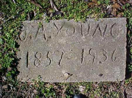 YOUNG, JAMES A - Cross County, Arkansas | JAMES A YOUNG - Arkansas Gravestone Photos