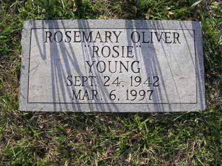 "OLIVER YOUNG, ROSEMARY ""ROSIE"" - Cross County, Arkansas 