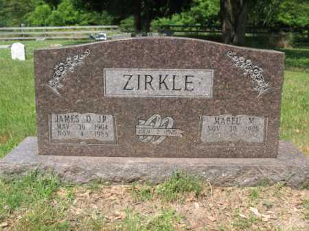 ZIRKLE, JR, JAMES D - Cross County, Arkansas | JAMES D ZIRKLE, JR - Arkansas Gravestone Photos