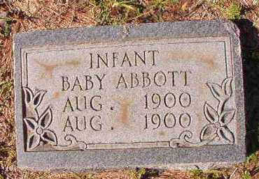 ABBOTT, INFANT - Dallas County, Arkansas | INFANT ABBOTT - Arkansas Gravestone Photos