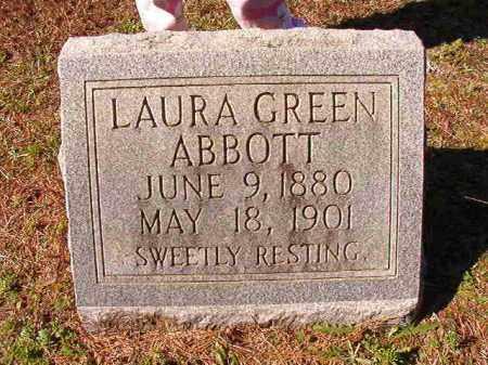 GREEN ABBOTT, LAURA - Dallas County, Arkansas | LAURA GREEN ABBOTT - Arkansas Gravestone Photos