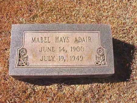 ADAIR, MABEL - Dallas County, Arkansas | MABEL ADAIR - Arkansas Gravestone Photos